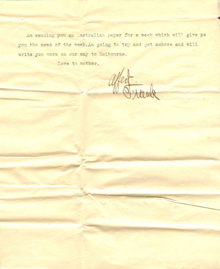 Sydney Letter 4 001