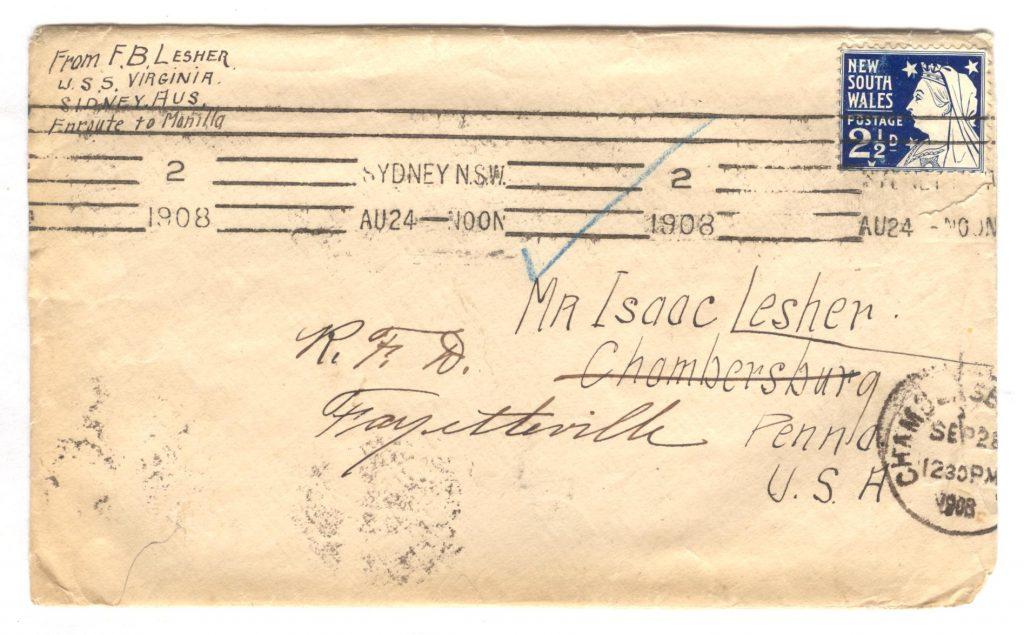 Sydney Letter - Cover 001