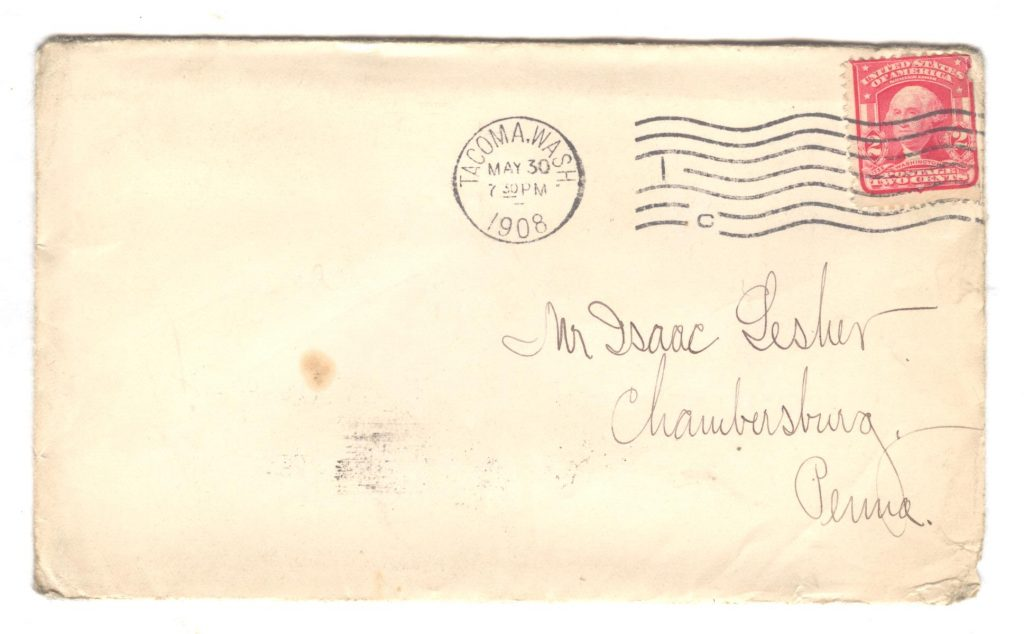 Tacoma Letter Cover 001
